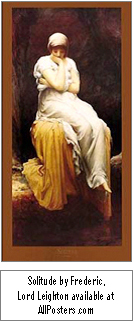 'AF-AllPosters.com Solitude Lord Leighton'
