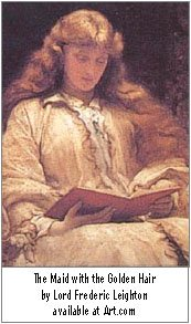 'AF-Art.com The Maid with the Golden Hair by Lord Frederic Leighton.jpg'